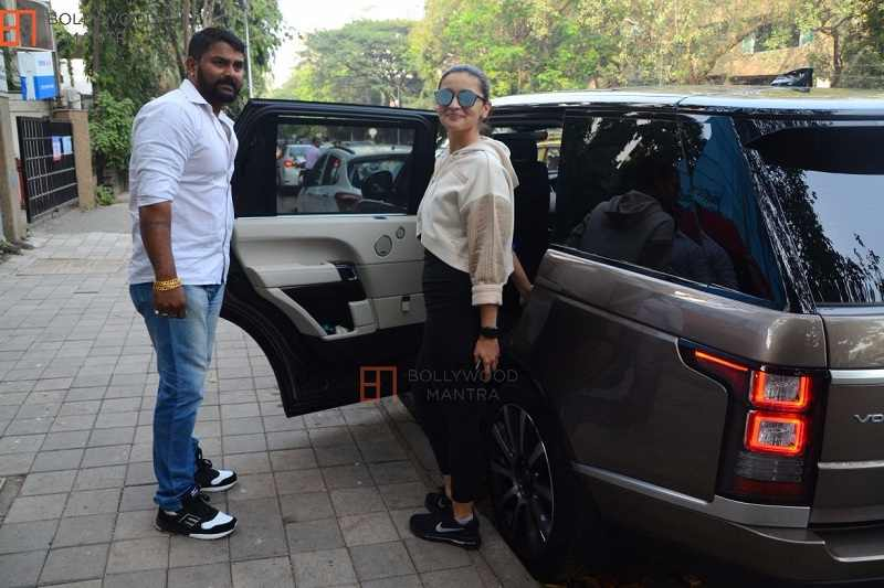 Alia Bhatt With Range Rover Vogue