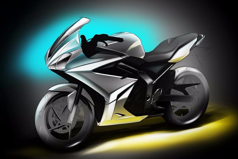 Bajaj Triumph 500cc bike