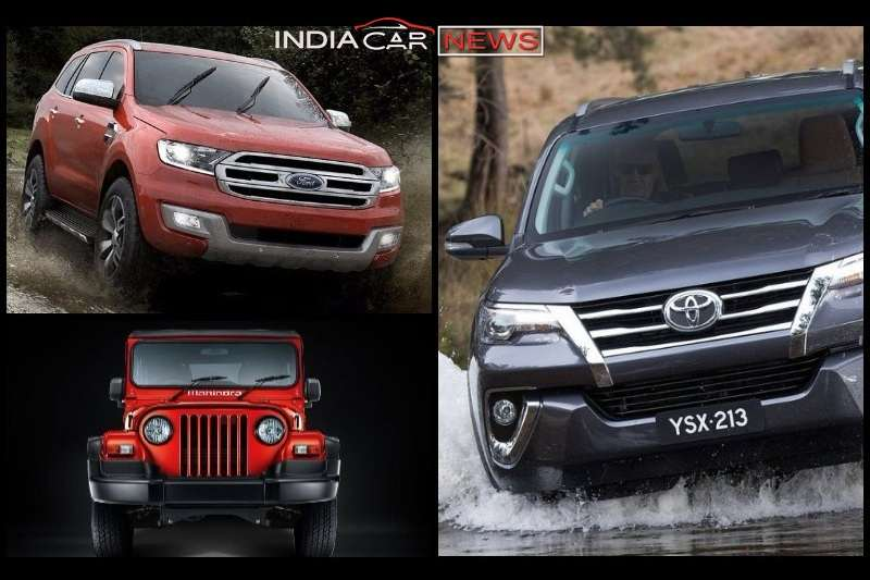 7 Best Off Road Cars In India 2018 - Pictures & Details