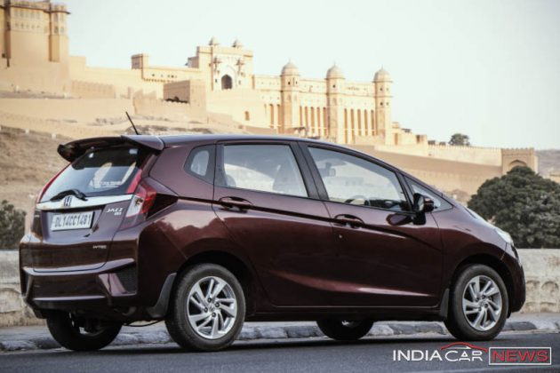 Honda Jazz Handling Review