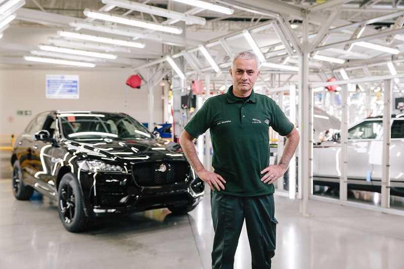 Jaguar F-PACE José Mourinho Surprise Visit