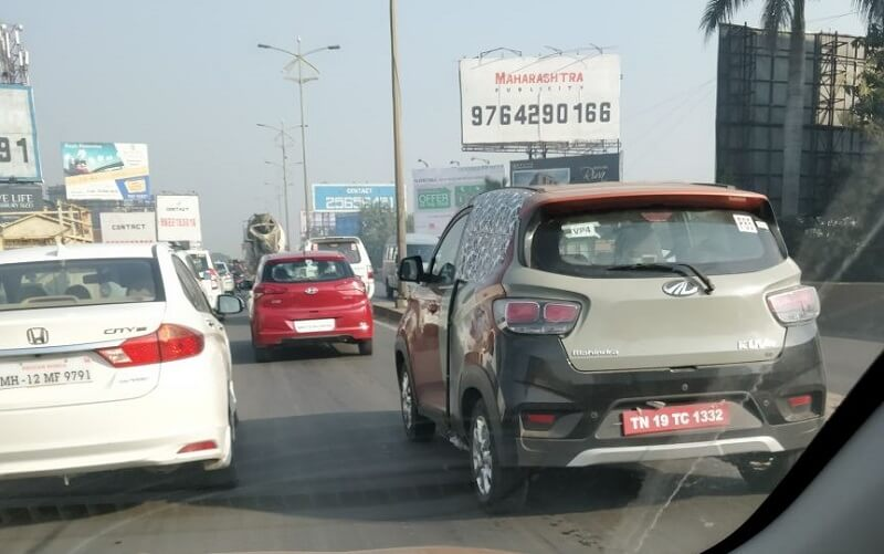 KUV100 Electric Spied