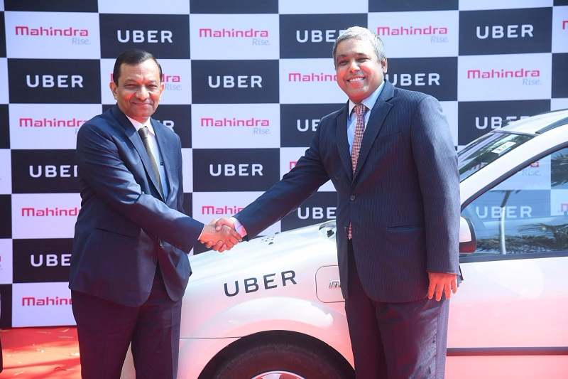 Mahindra Uber Electric Vehicles 1