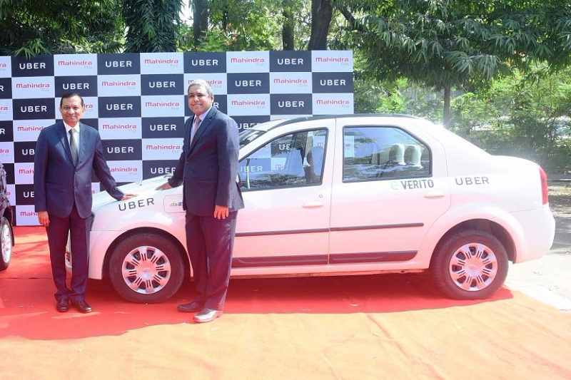 Mahindra Uber Electric Vehicles 2
