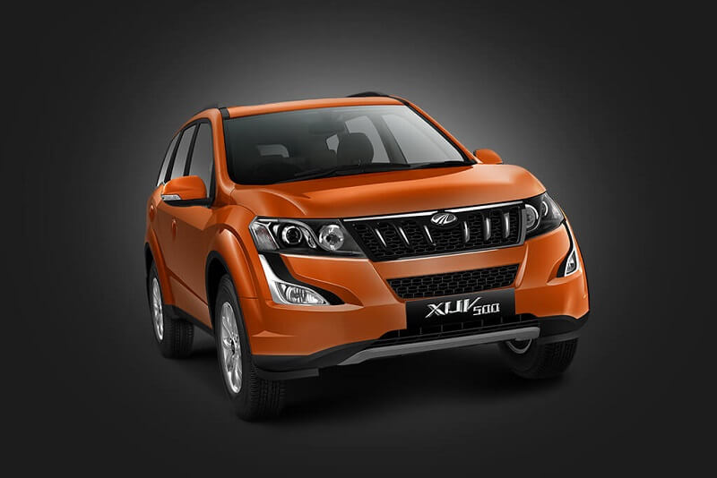 Mahindra XUV500 Front Side Profile (1)