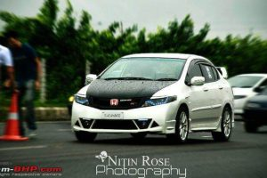 Modified Honda City White Ghost (1)
