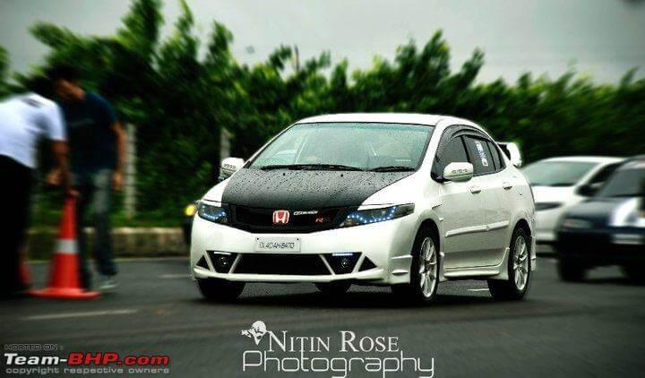 Modified Honda City White Ghost (1)