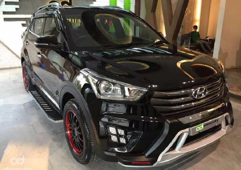 Modified Hyundai Creta Stealth