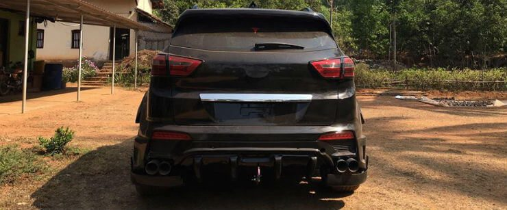 Modified Hyundai Creta Wide Body Rear
