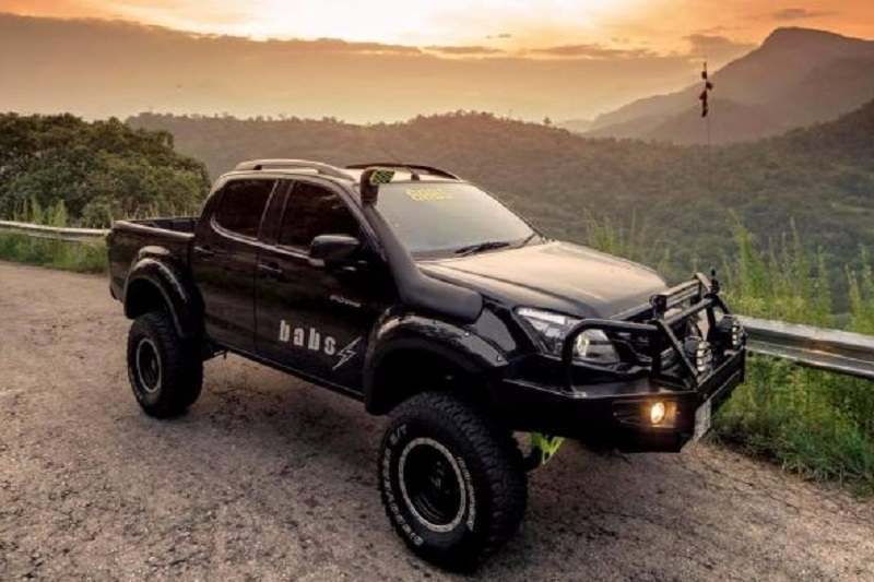 This Modified Isuzu V Cross Is Everything You Want In Your