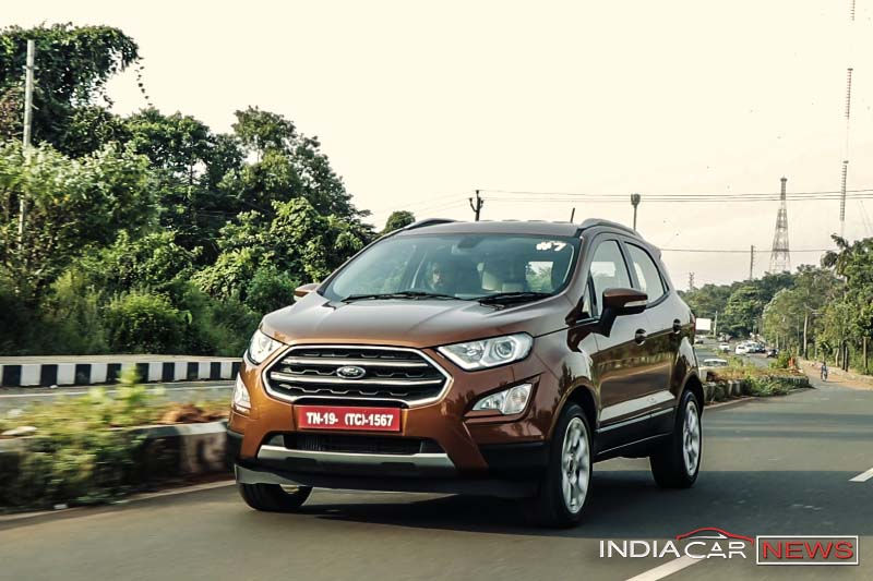 BS6 Ford EcoSport Spotted Testing Ahead Of Its Launch - IndiaCarNews thumbnail
