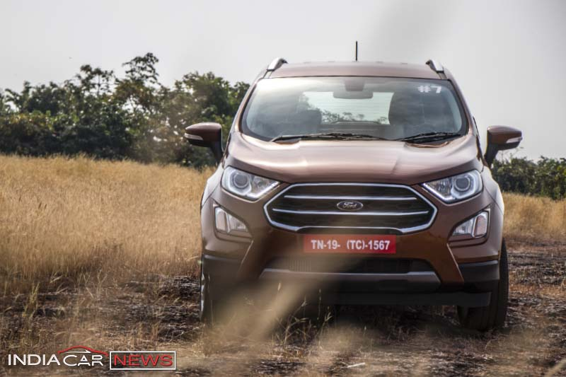 New Ford Ecosport  Colours
