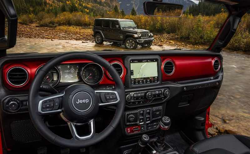 New Jeep Wrangler 2018 Interior
