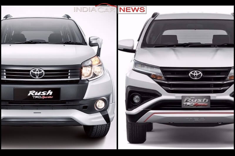 Daihatsu Terios 2017 >> New Toyota Rush Vs Old Rush - Design, Specifications, Dimensions