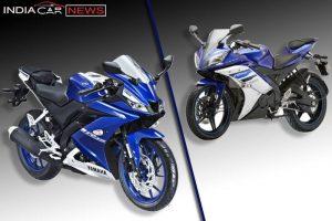 New Yamaha R15 V3 Vs Old R15