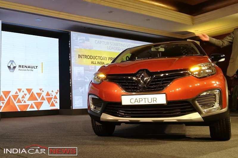Renault Captur Price List
