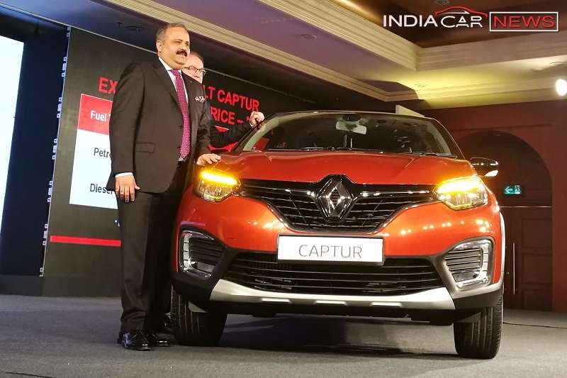 Renault Captur Variant Prices