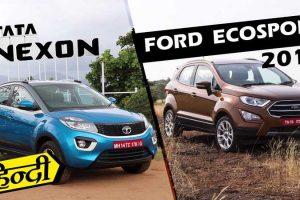 Tata Nexon vs For Ecosport 2017