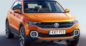 Volkswagen Polo SUV Rendered