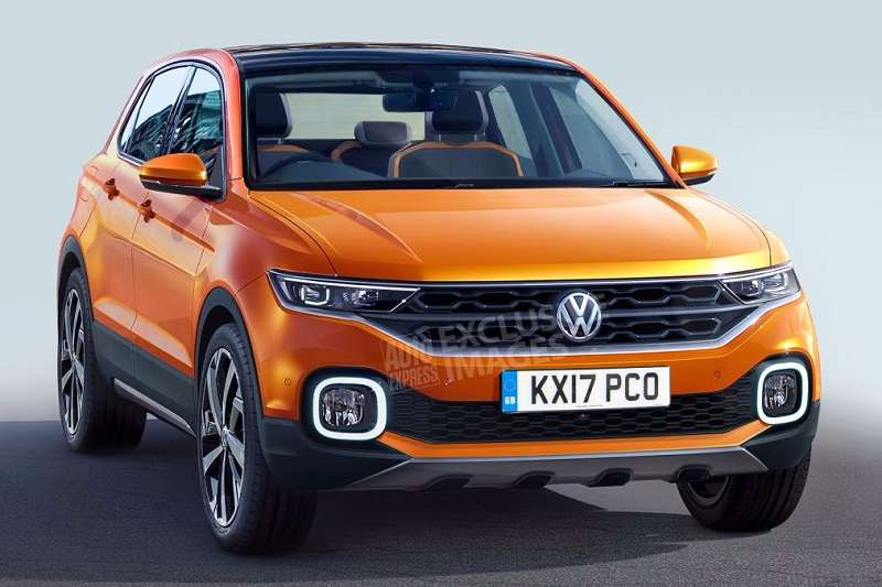 Volkswagen Polo SUV Rendered