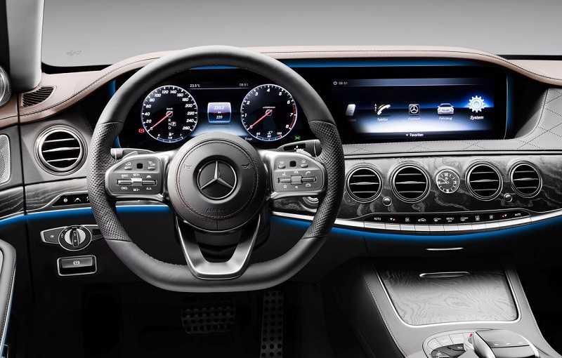 2018 Mercedes Benz S Class India interior