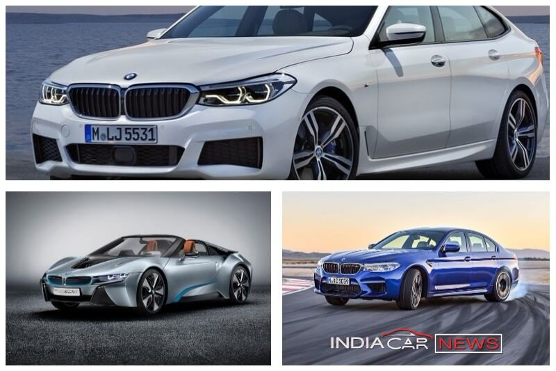 BMW Cars At Auto Expo 2018