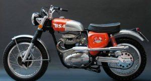 BSA Motorcyle