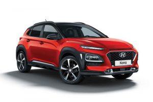 Hyundai Kona Red