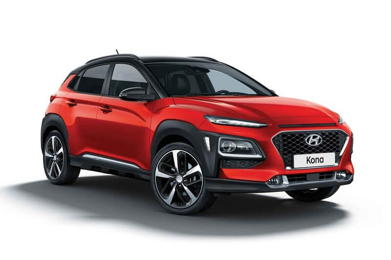 hyundai kona euro ncap rating video pictures. Black Bedroom Furniture Sets. Home Design Ideas