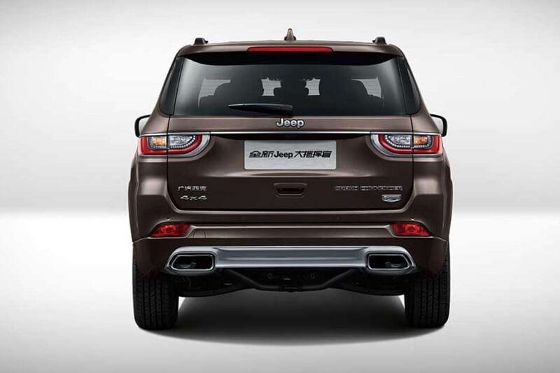 Jeep Grand Commander Price in India
