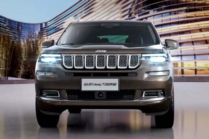Jeep Grand Commander Specifications