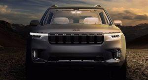 New Jeep 7 Seater SUV Concept