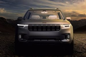 New Jeep 7 Seater SUV Concept