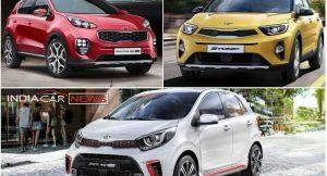 Kia Cars At Auto Expo 2018
