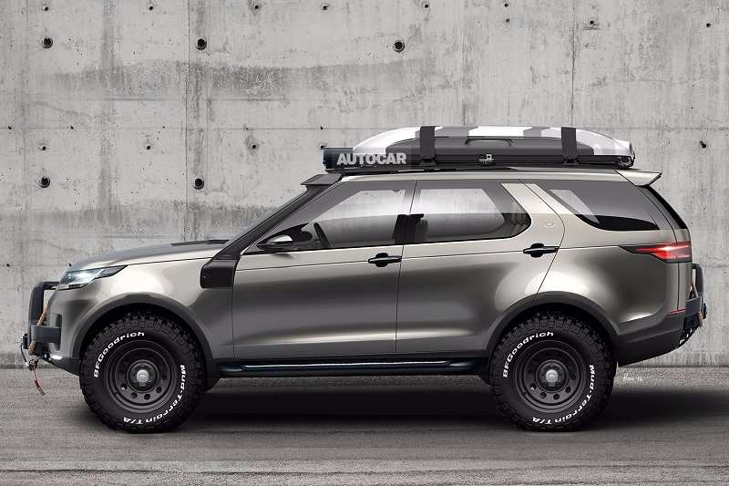 Land Rover Based Tata SUV