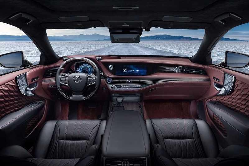 Lexus LS 500h India interior