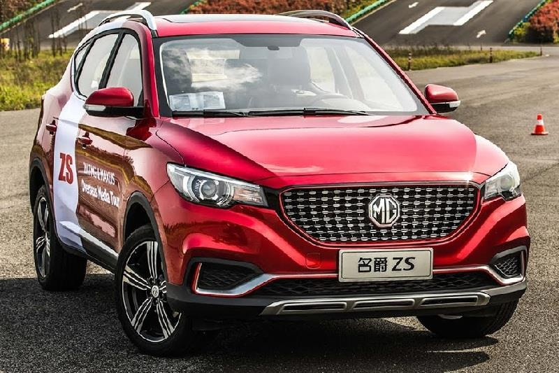 MG ZS SUV India