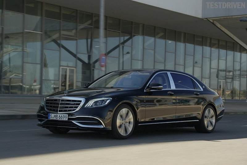 Mercedes Benz Cars At Auto Expo 2018 - Maybach S650