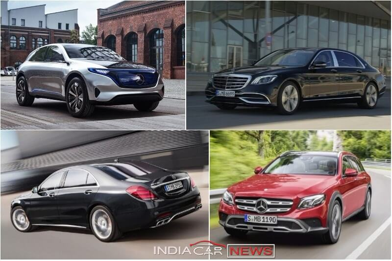 Mercedes Benz Cars At Auto Expo 2018