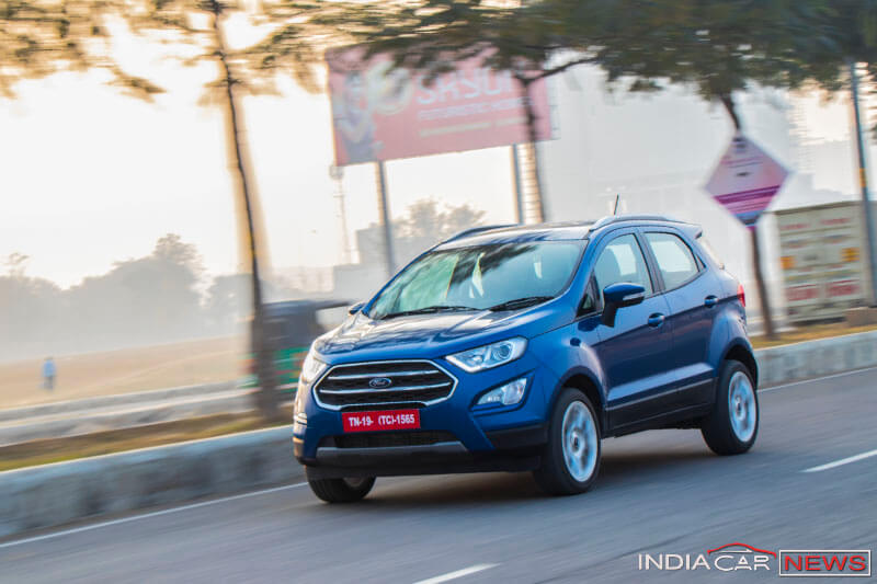 New Ford EcoSport India