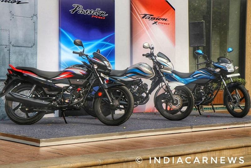 2018 Hero Passion, Passion Pro, Super Splendor