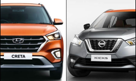 Nissan Kicks Vs Hyundai Creta