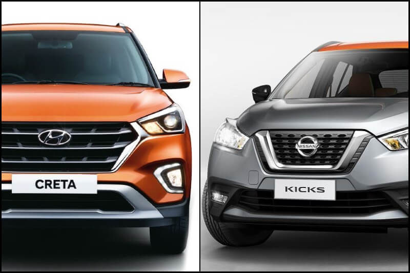 Nissan Kicks Vs Hyundai Creta Price Specs Features Mileage