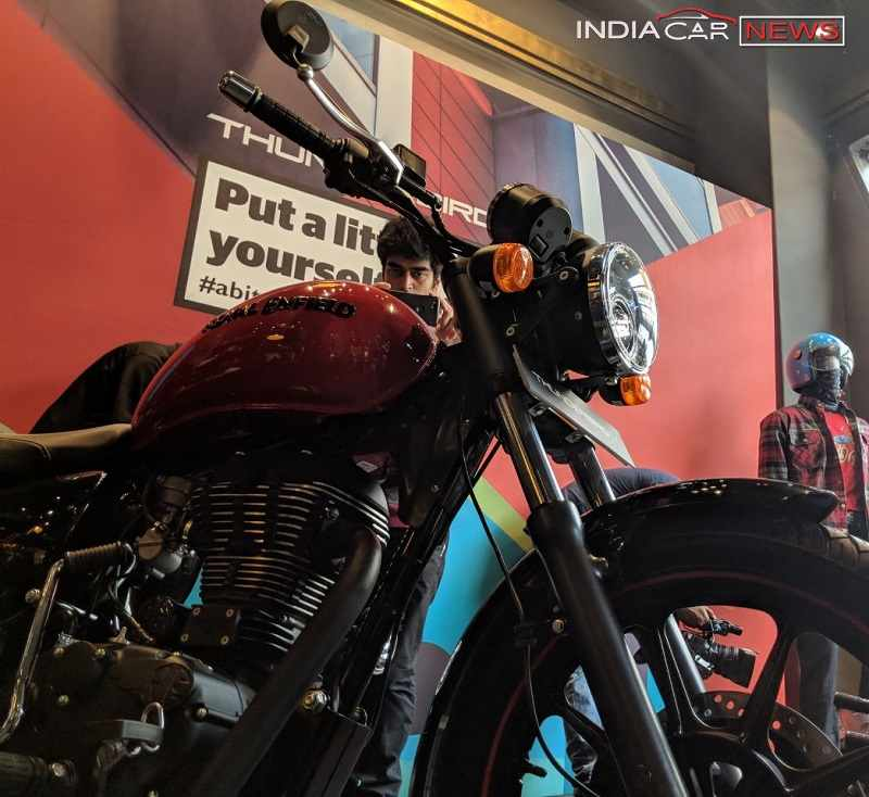 Royal Enfield Thunderbird 350X Details