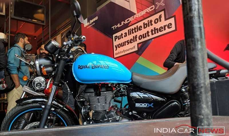 Royal Enfield Thunderbird 500X Price in India