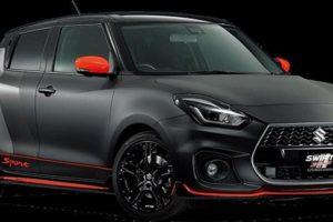 Suzuki Swift Sport Auto Salon Version Pictures Details