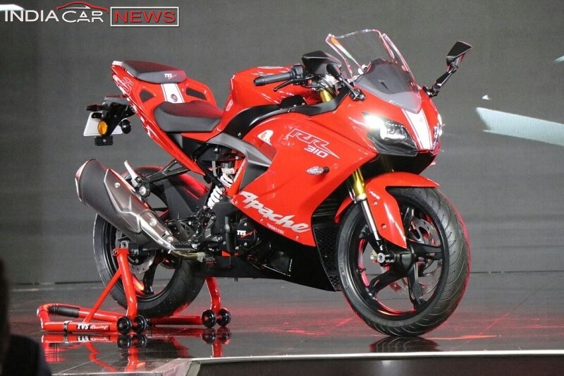 TVS Apache RR 310 India Launch