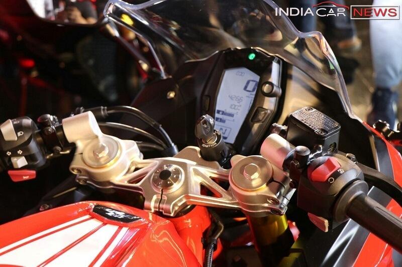 TVS Apache RR 310 digital instrument cluster
