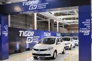 Tata Tigor Electric Rolled Out