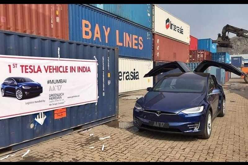 Tesla Model X India